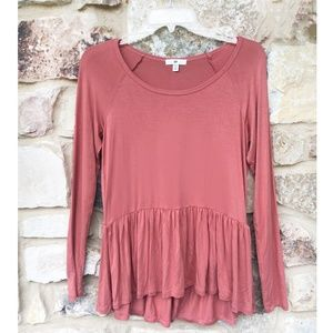 Bp Nordstrom Tunic Top |  Rose Pink